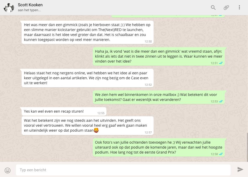 Iets Nieuws Fonk - Appen met: WhatsAppen met Scott Kooken #KS31