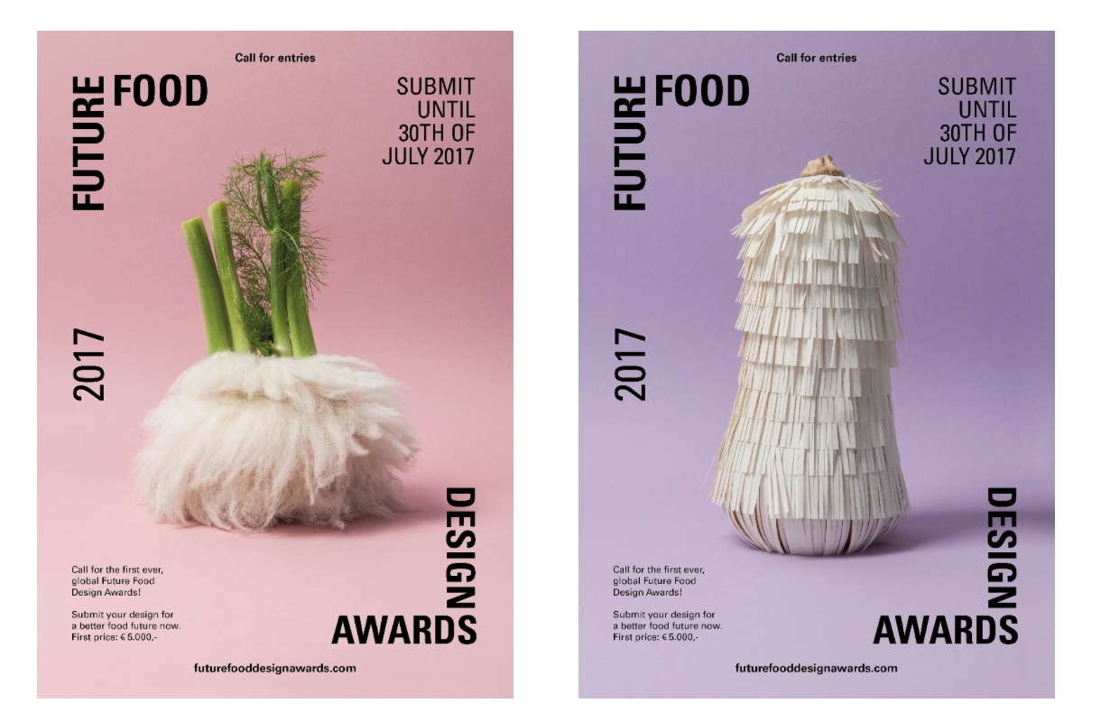 Future Food Design Award: call for entries