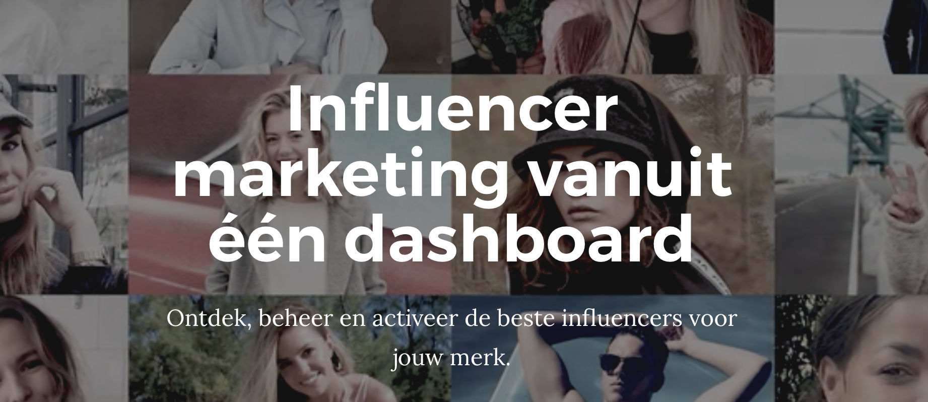 AI-technologie voor influencer marketing Join beschikbaar als white label