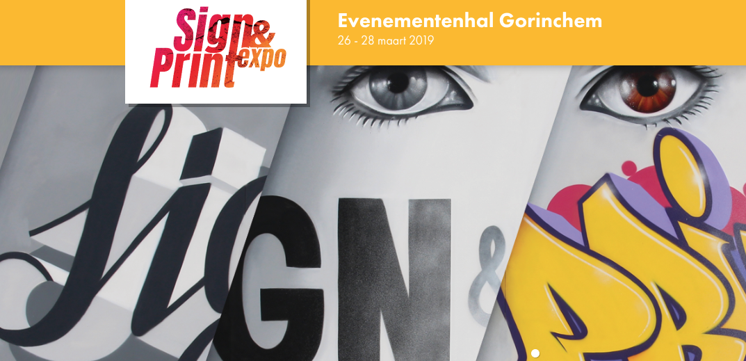 Definitieve timetable sprekers Sign & Print Expo 2019 bekend
