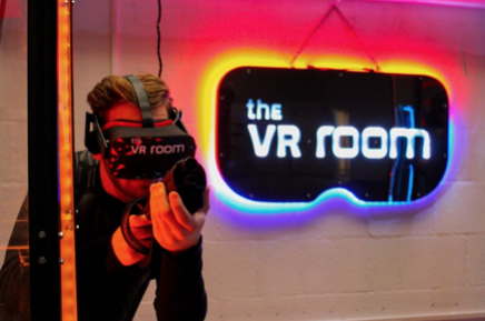 The VR Room opent locatie in Amsterdam