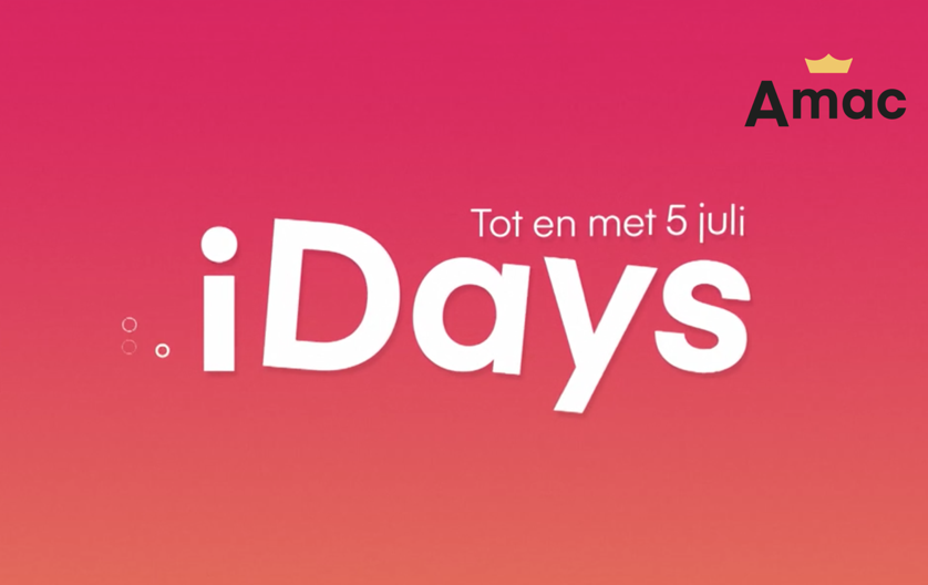 AMAC en More Media Group lanceren iDays campagne