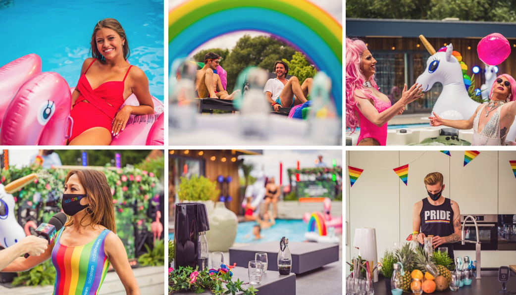 SodaStream Pride Pool Party op OUTtv: 'For the love of tomorrow'